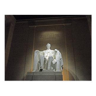 Washington DC 002 du Lincoln Memorial Carte Postale