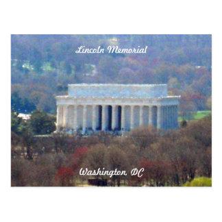 Washington DC 003 du Lincoln Memorial Carte Postale
