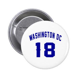 Washington DC. 18 Badges