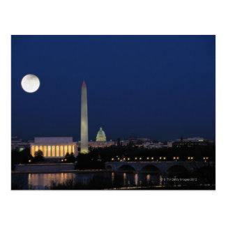 Washington DC la nuit Carte Postale