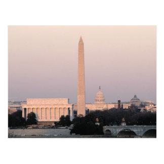 Washington, horizon de C.C Carte Postale