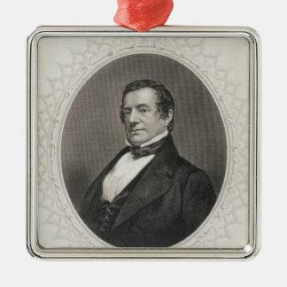 Washington Irving Ornement Carré Argenté