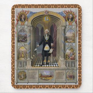 Washington le maçon II Tapis De Souris