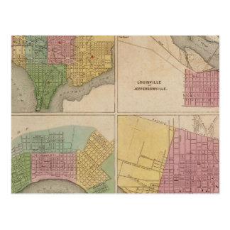 Washington Louisville et Jeffersonville Carte Postale