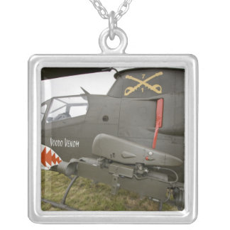 Washington, Olympia, airshow militaire. 8 Pendentif Carré