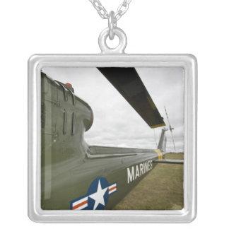 Washington, Olympia, airshow. militaire Pendentif Carré