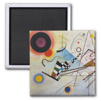 Wassily Kandinsky - composition 8 - art Magnet Carré