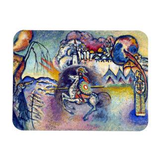Wassily Kandinsky - St George et les cavaliers Magnet