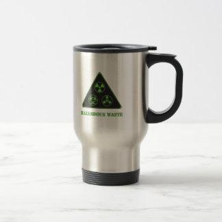 Waste.ai dangereux mug de voyage en acier inoxydable