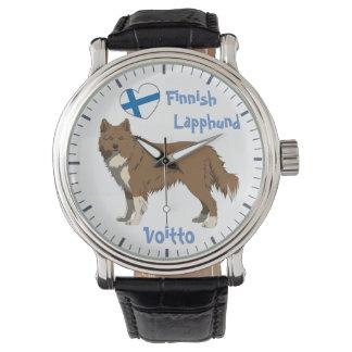 Watch finlandais Lapphund irlandais brown Montre