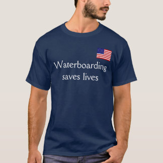Waterboarding sauve les vies t-shirt
