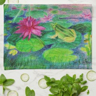 waterlilly elve serviettes pour les mains
