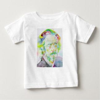 watts d'Alan - portrait d'aquarelle T-shirt Pour Bébé