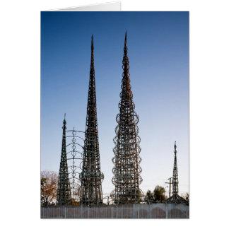 Watts de tours Los Angeles Cartes