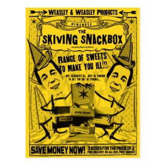 Weasley et produits de weasley carte postale