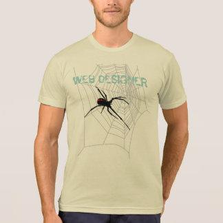WEB DESIGNER ET SPIDER T-SHIRT