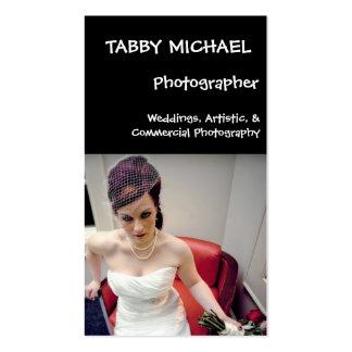 wed7, MICHAEL TIGRÉ, photographe, mariages, AR… Carte De Visite Standard