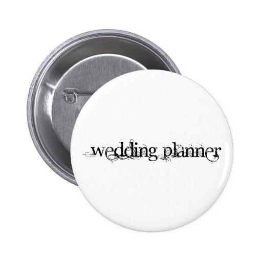 Wedding planner badge avec épingle