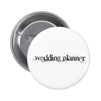 Wedding planner badge rond 5 cm