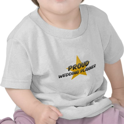 Wedding planner fier t-shirts