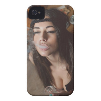 Weed Girl Coques Case-Mate iPhone 4