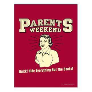 Week-end de parents : Peau tout Carte Postale