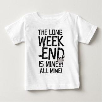 Week-end long de Fête du travail, long week-end T-shirt Pour Bébé