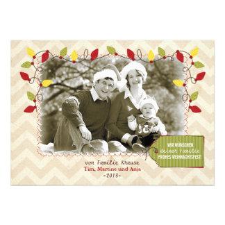 Weihnachten Foto-Karte Grußkarte
