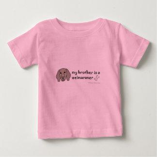 weimaraner t-shirt pour bébé