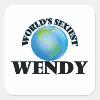 Wendy la plus sexy du monde sticker carré
