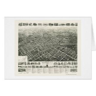 Westfield, carte panoramique de NJ - 1929