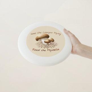 Wham-O Frisbee Alimentez le frisbee de mycéliums