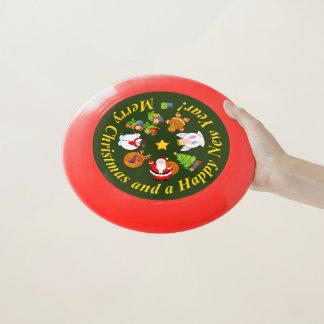 Wham-O Frisbee Amusement le père noël et d'autres caractères de