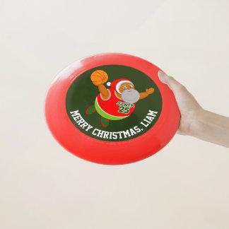 Wham-O Frisbee Amusement le père noël noir trempant un