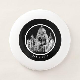 Wham-O Frisbee Basilique vintage de la France Paris Sacre Coeur