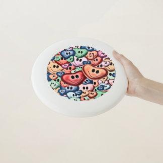 Wham-O Frisbee Coeurs de sourire drôles B