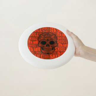 Wham-O Frisbee Crâne B de WordArt