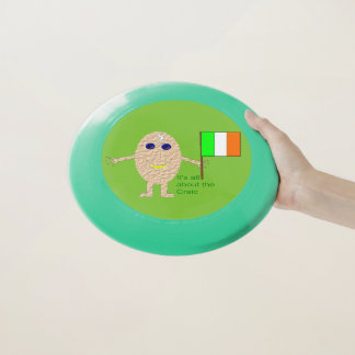 Wham-O Frisbee Frisbee irlandais patriotique d'oeufs