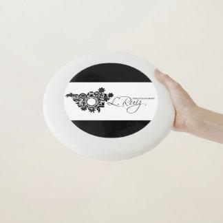 Wham-O Frisbee Frisbee noir et blanc LRUIZ