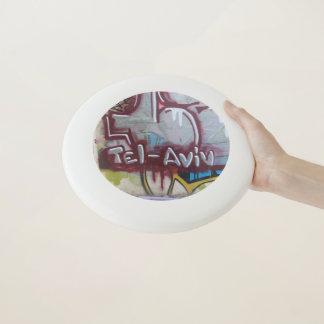 Wham-O Frisbee Graffiti de frisbee de Tel Aviv