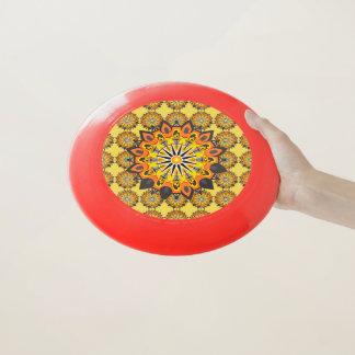 Wham-O Frisbee Mandala-Jaune