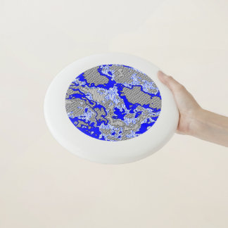 Wham-O Frisbee Mélange abstrait unique 2B de motif