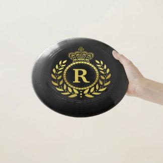 Wham-O Frisbee Or royal de noir de guirlande de laurier de