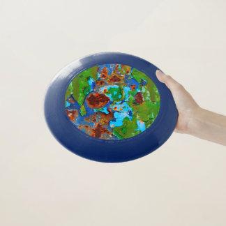 Wham-O Frisbee Photo drôle grunge de délabrement de peinture