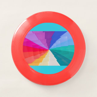 Wham-O Frisbee vortex multicolore sur le frisbee