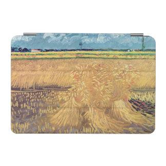 Wheatfield de Vincent van Gogh   avec des gerbes, Protection iPad Mini