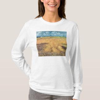 Wheatfield de Vincent van Gogh | avec des gerbes, T-shirt