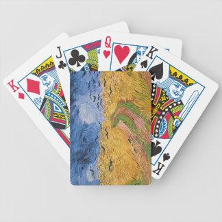 Wheatfield de Vincent van Gogh | avec des Jeu De Poker