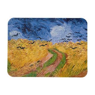 Wheatfield de Vincent van Gogh | avec des Magnet En Vinyle