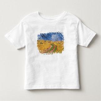 Wheatfield de Vincent van Gogh | avec des T-shirt Pour Les Tous Petits